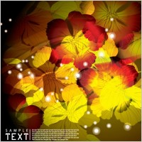 Link toDream flowers vector background 3