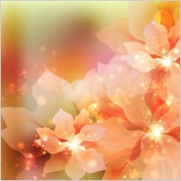 Link toDream flowers vector background 5