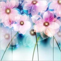 Link toDream flowers vector background