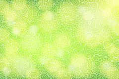 Link toDream green patterned halo background vector