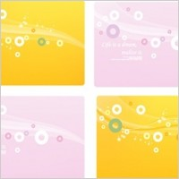 Link toDream line circle and background material vector