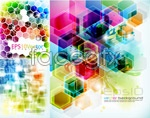 Dream plaid background vector