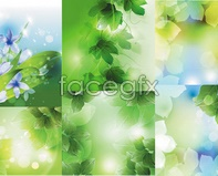 vector background plant Dream