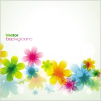 Link toDream spring flowers background 02 vector