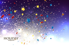 Link toDream stars holiday background vector