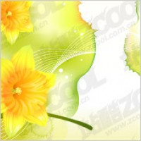 Link toDreams and narcissus vector background material