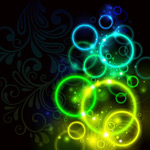 Link toDreamy aura background vector