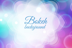 Link toDreamy bokeh background design vector graph