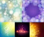 Link toDreamy cool light effect background vector