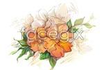 Link toDreamy flowers vector 4