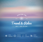 Link toDreamy fuzzy background vector