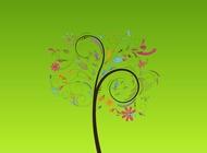 Link toDreamy tree vector free