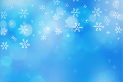 Link toDreamy white snowflake background vector