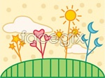 Link toDren quaint nature sketch vector