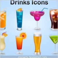 Link toDrinks icons icons pack
