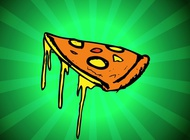 Link toDripping pizza vector free