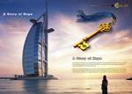 Link toDubai travel brochure psd