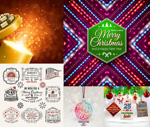 Link toDudley christmas border vector