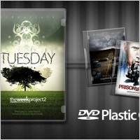 Link toDvd plastic case psd file