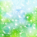 Link toDynamic background bubbles vector