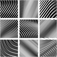 Link toDynamic black and white spiral pattern 02 vector
