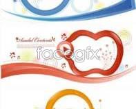 Link toDynamic cartoon ornament vector design