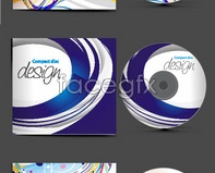 Link toDynamic cd cover vector