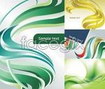 Link toDynamic color stripes background vector