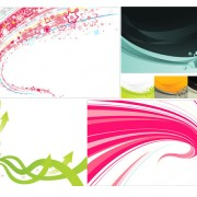 Link toDynamic colored elements background vector