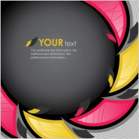 Link toDynamic colorful background 01 vector