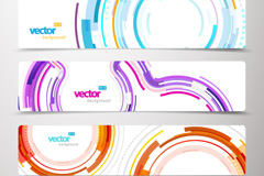 Link toDynamic curves in color vector background