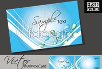 Link toDynamic drop a business card template vector