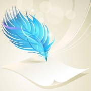 Link toDynamic feather with background vector set 03 free