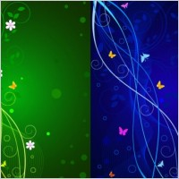 Link toDynamic lines of the butterfly pattern vector