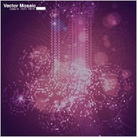 Link toDynamic mosaic star background 03 vector