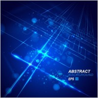 Link toDynamic technological background bright 02 vector