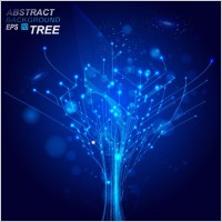 Link toDynamic technological background bright 03 vector
