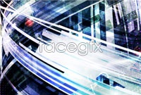Link toDynamic technological background vector