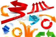 Link toDynamic three-dimensional arrow vector