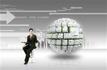 Link toE-commerce networks information technology psd