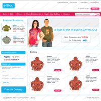 Link toE commerce template for sale