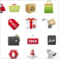 Link toE-commerce vector icons
