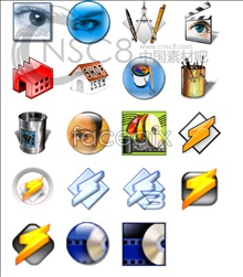 E series of documents icon