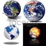 Link toEarth hd pictures psd