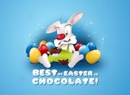 Link toEaster bunny cartoon vector free