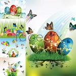 Link toEaster butterfly vector