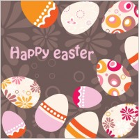 Link toEaster egg background illustrator 01 vector