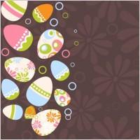 Link toEaster egg illustration background 04 vector