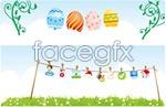Link toEaster egg pattern butterfly vector