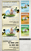Link toEaster party - flyer template